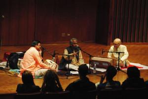 indian music concert by LIZ LANDES