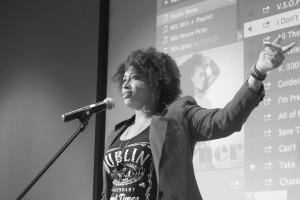 Poetry Slam - Hubbard - BW
