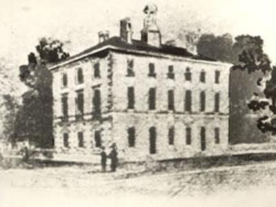 Academy Building - circa 1849