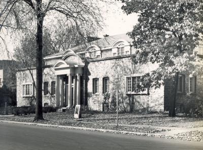 Peabody Hall of Music circa 1951.