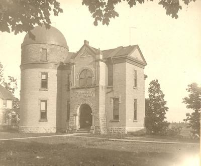 Underwood Observatory circa 1905.